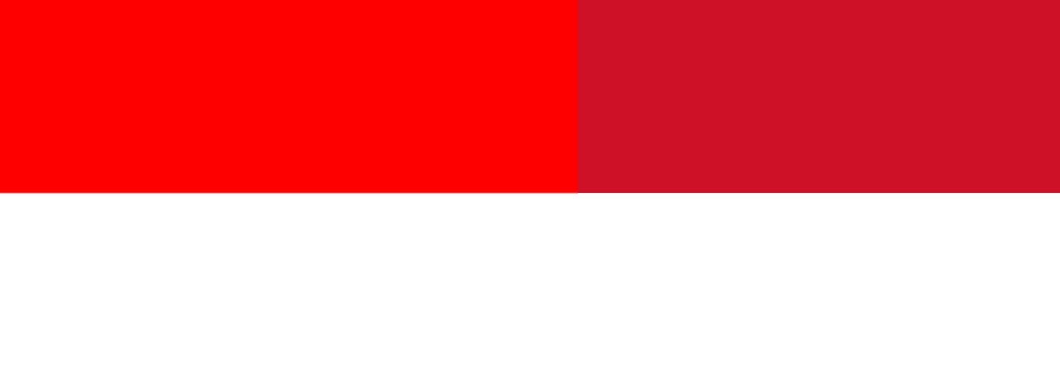 Indonesia and Monaco flags