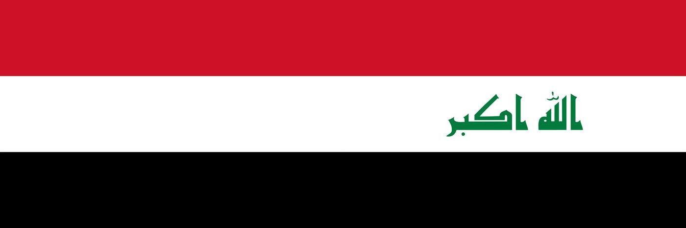 Yemen and Iraq flags